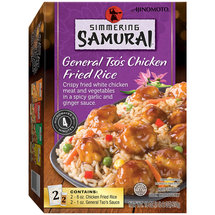 Ajinomoto Simmering Samurai General Tso's Chicken Fried Rice