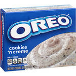 Jell-O Oreo Cookies 'N Cream With Cookie Pieces Instant Pudding & Pie Filling