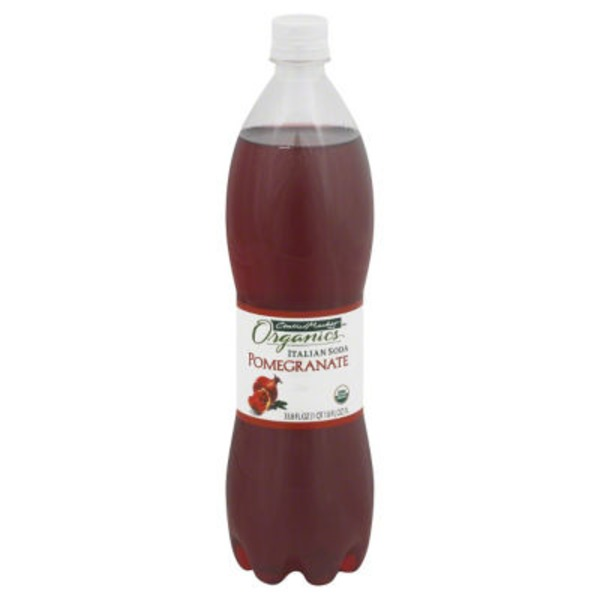 Central Market Pomegranate Italian Soda