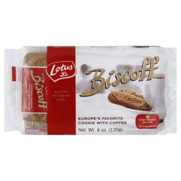 Biscoff Lotus Biscoff Europe's Favorite Cookie with Coffee - 8 CT