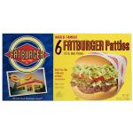 Fatburger Beef Patties