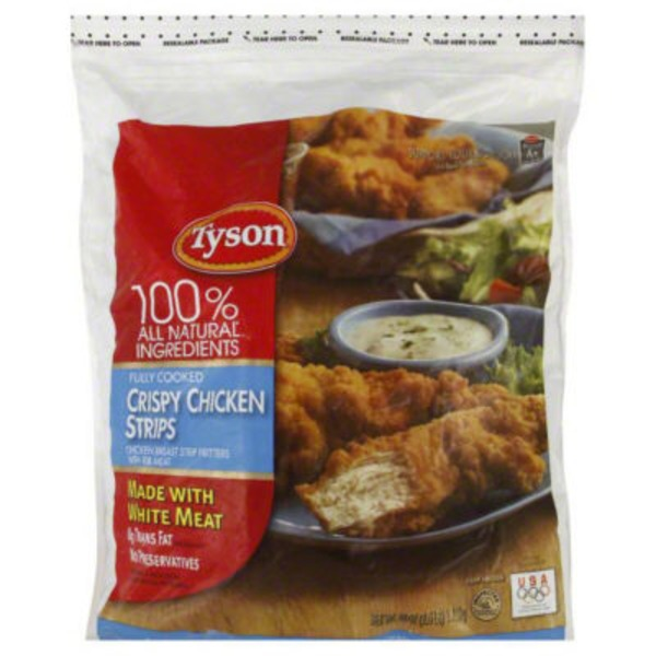 Tyson Frozen Breaded Crispy Chicken Strips