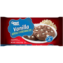Great Value Vanilla Flavored Baking Chips