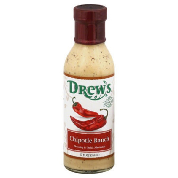 Drew's Chipotle Ranch Dressing & Quick Marinade