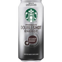 Starbucks Doubleshot White Chocolate Fortified Energy Coffee Drink