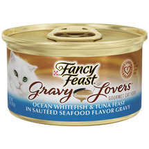 Fancy Feast Gravy Lovers Ocean Whitefish & Tuna Feast Cat Food
