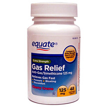 Equate Extra Strength Anti-Gas/Simethicone Chewable Tablets Gas Relief
