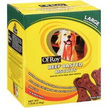Ol' Roy Beef Basted Biscuit Dog Treats