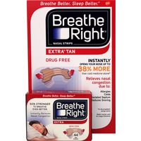 Breathe Right Extra Tan Nasal Strips