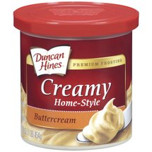 Duncan Hines Buttercream Creamy Home-Style Frosting
