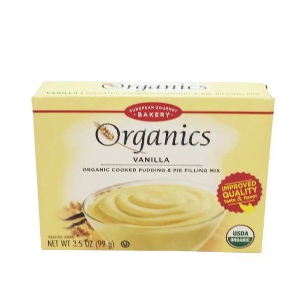 Lov Organics Organic Cooked Vanilla Pudding & Pie Filling Mix