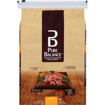 Pure Balance Chicken and Brown Rice Dry Cat Food