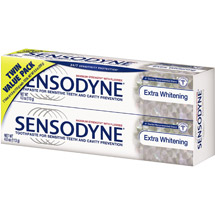 Sensodyne Extra Whitening Twin Pack Toothpaste