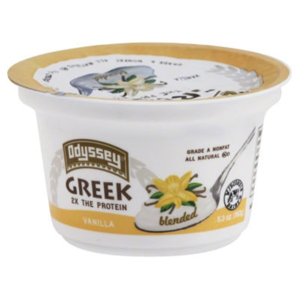 Odyssey Greek Nonfat Blended Vanilla Yogurt
