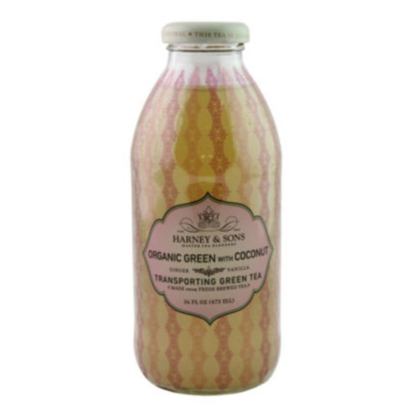Harney & Sons Green Tea, Transporting, Organic Green, with Coconut