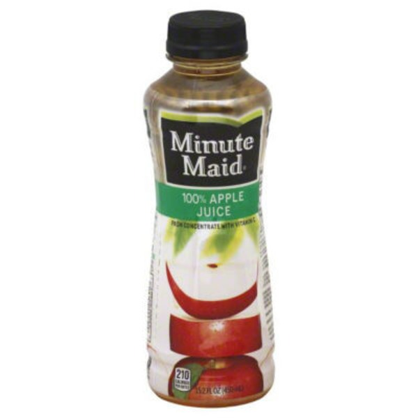 Minute Maid Juices To Go 100% Pure Apple Juice