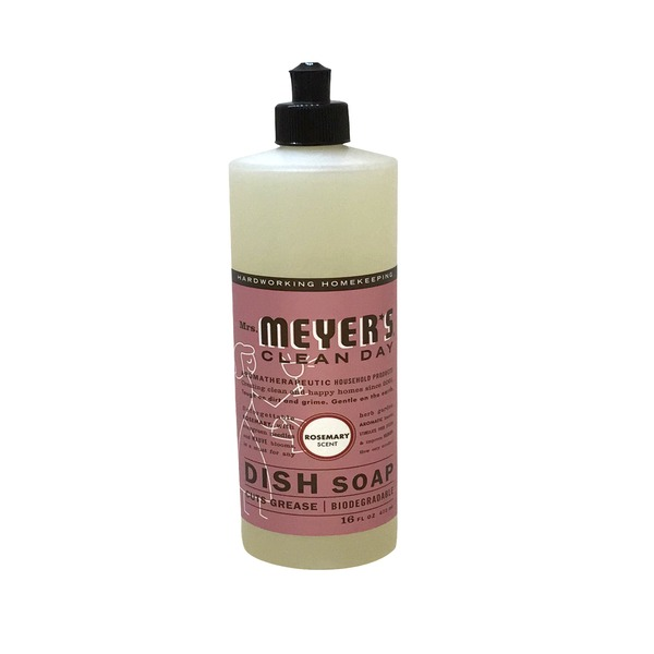 Mrs. Meyer's Mrs Meyers Dish Soap Rosemary