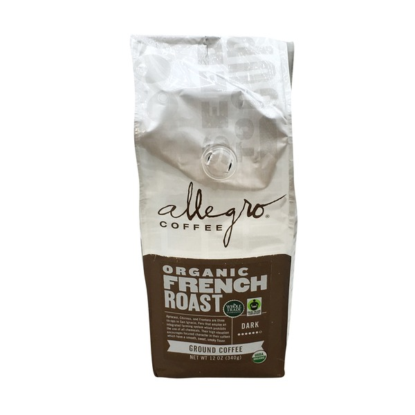 Allegro Coffee Organic French Roast Ground Coffee