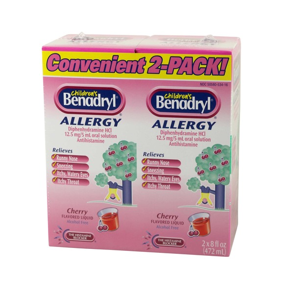 Benadryl Allergy Liquid