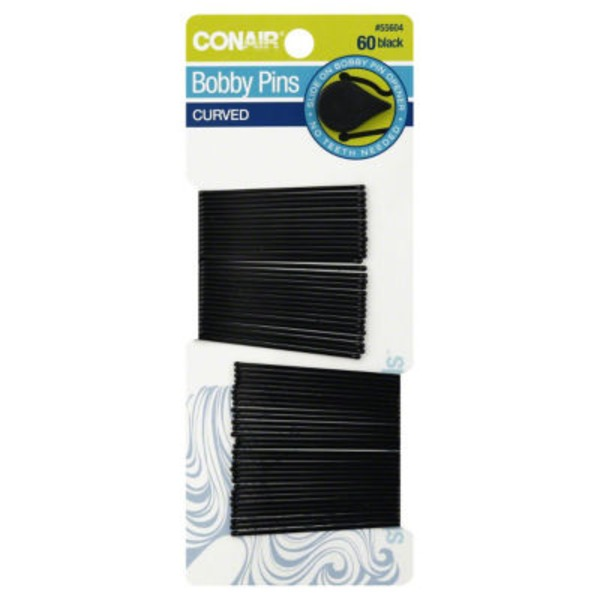 Conair Bobby Pins Black - 60 CT