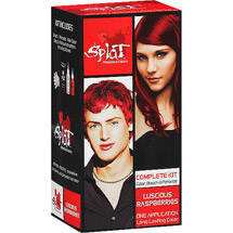 Splat Semi Perm Hair Color Luscious Raspberry