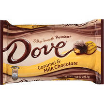 Dove Promises Caramel and Milk Chocolate