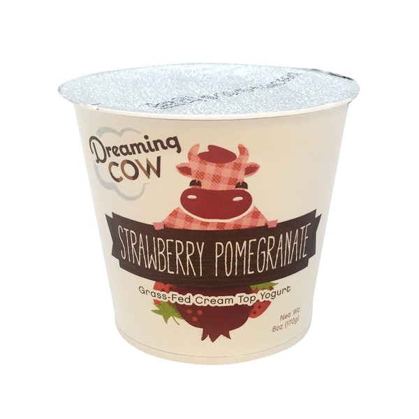 Dreaming Cow Grass-Fed Strawberry Pomegranate Yogurt