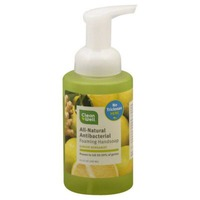 CleanWell Handsoap, Foaming, All-Natural Antibacterial, Ginger Bergamot
