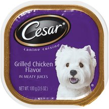 Cesar Grilled Chicken Flavor In Meaty Juices Canine Cuisine
