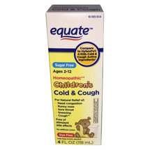 Equate Children's Cold & Cough Relief Liquid Cold Medicine