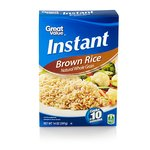 Great Value Natural Whole Grain Instant Brown Rice