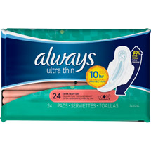 Always Ultra Thin Extra Heavy Day Pads