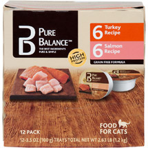 Pure Balance Canned Cat Food Cups Value Pack