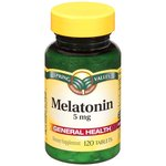Spring Valley 5 mg Melatonin