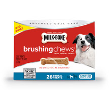Milk-Bone Brushing Chews Daily Dental Treats Small/Medium 20.4 oz Extra Value Pack