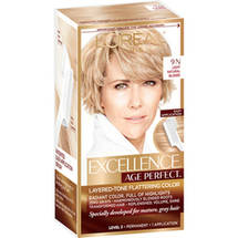L'Oreal Paris Excellence Age Perfect Layered-Tone Flattering Color Kit 9N Light Natural Blonde