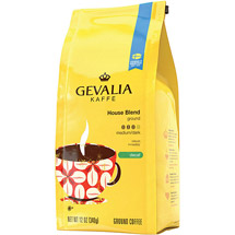 Gevalia House Blend Decaf Medium/Dark Coffee