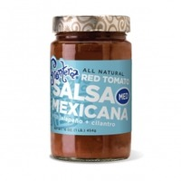 Frontera Chunky Tomato Medium Roasted Garlic + Jalapeno Gourmet Mexican Salsa