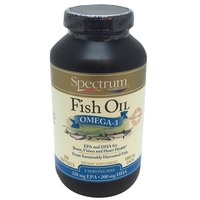 Spectrum Essentials Spectrum Fish Oil Omega-3 - 250 CT