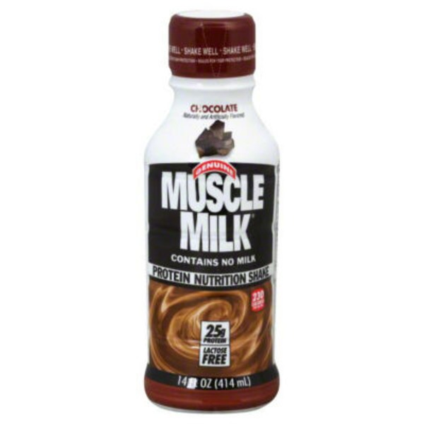 Muscle Milk Genuine Chocolate Non Dairy Protein Shake