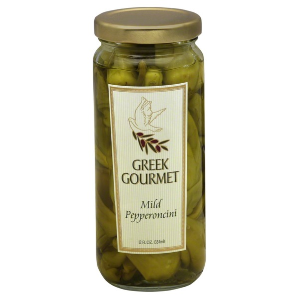 Greek Gourmet Pepperoncini, Mild