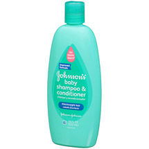 Johnson's No More Tangles Shampoo  2-in-1 formula