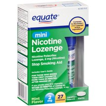 Equate Mini Nicotine Lozenge Stop Smoking Aid