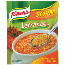 Knorr Tomato Based Alphabet Pasta Soup