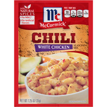 McCormick White Chicken Chili Seasoning Mix