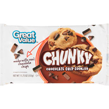 Great Value Chunky Chocolate Chip Cookies