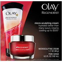 Olay Regenerist Micro-Sculpting Cream & Pore Scrub