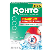 Rohto Maximum Redness Relief Cooling Eye Drops