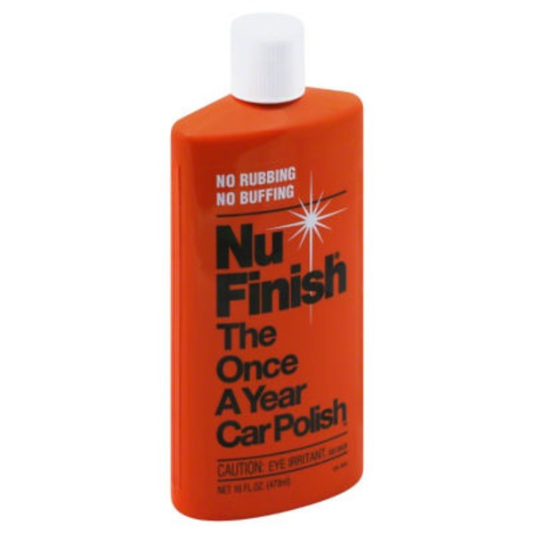 Nu Finish The Once A Year Car Polish