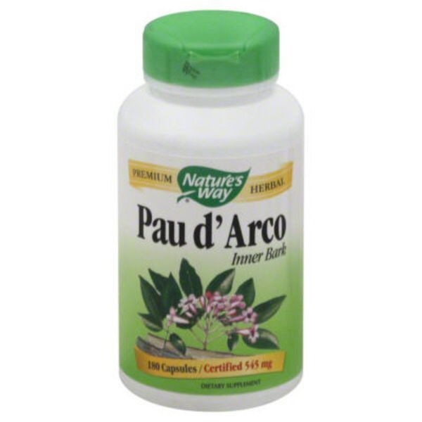 Nature's Way 545 mg Pau d'Arco Inner Bark Dietary Supplement